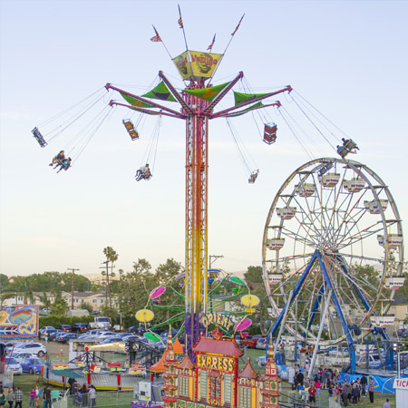 Carnival Midway Attractions
